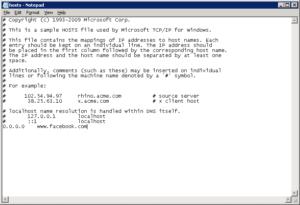 Некоторые советуют редактировать файл host