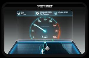 Интернет «Анлим» работает на максимальной скорости