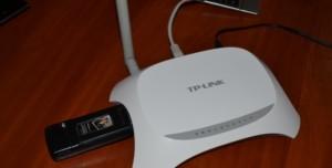 Подключать модем для раздачи сети можно в роутер TP-Link