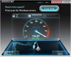 Internet от MTS можно проверить на Speedtest.net, который работает на айфонах и андроидах
