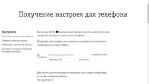 Получение данных на официальном сайте